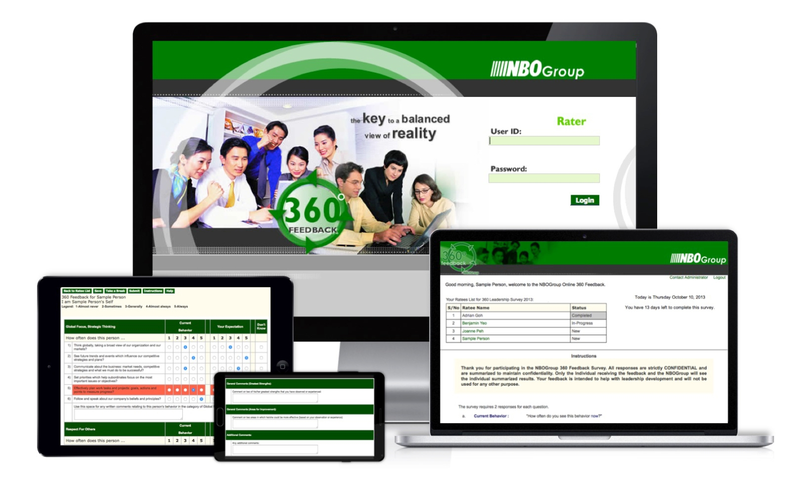 NBOGroup 360 Feedback Tool