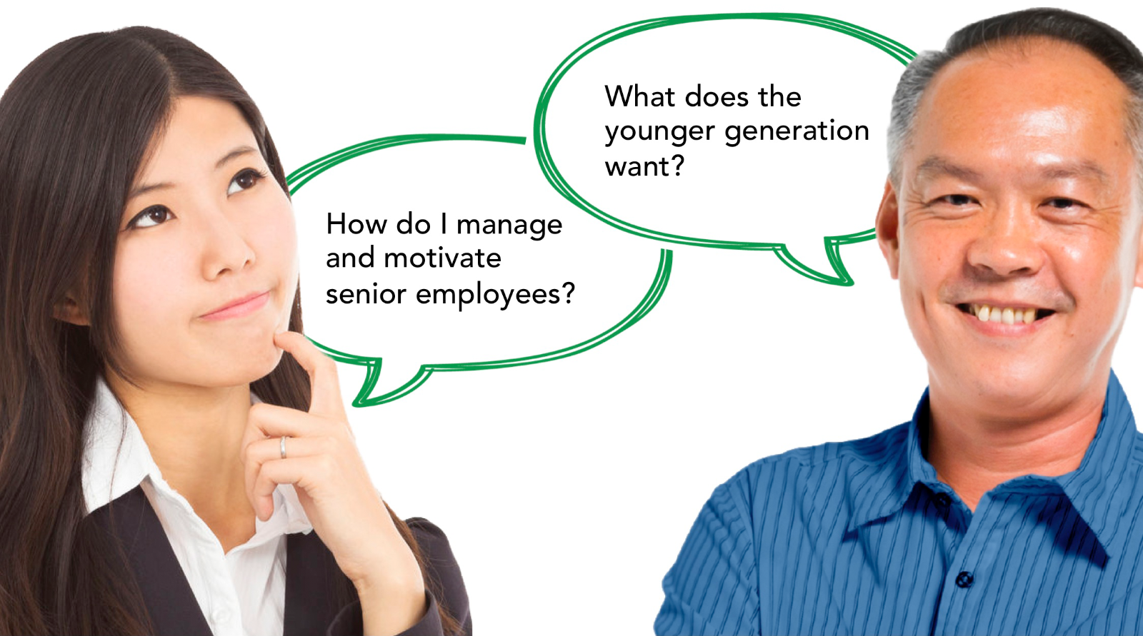 Intergenerational issues in the workplace